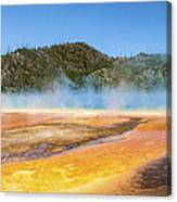 Grand Prismatic Spring - Yellowstone National Park Canvas Print