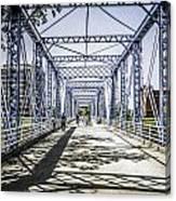 Grand Rapids Bridge Canvas Print