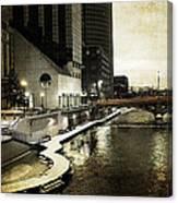 Grand Rapids Grand River Canvas Print