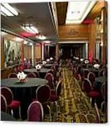 Grand Salon 04 Queen Mary Ocean Liner Canvas Print