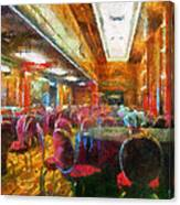Grand Salon 05 Queen Mary Ocean Liner Photo Art 02 Canvas Print