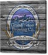 Grand Teton Brewing Canvas Print
