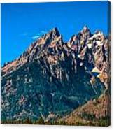 Grand Teton Mountain Canvas Print