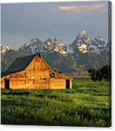 Grand Teton National Park , Wyhomestead Canvas Print