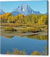 Grand Teton National Park 3 Canvas Print