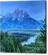 Grand Teton  - Snake River Overlook  Canvas Print
