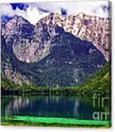Grand Tetons National Park Painting Canvas Print