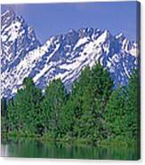 Grand Tetons National Park Wy Canvas Print