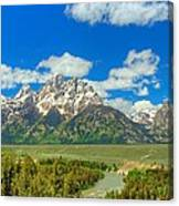 Grand Tetons Snake River Overlook  Canvas Print