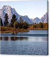 Snake River, Grand Tetons, Wyoming Canvas Print