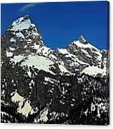 Grand Tetons Wyoming Canvas Print