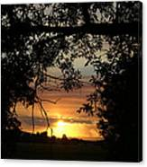 Grand Valley Sunset Canvas Print