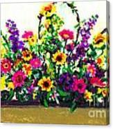 Grandchildren's Bouquet Canvas Print