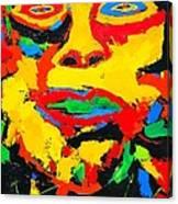 Grande La Faccia Canvas Print