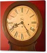 Grandfather Clock Top 1 Canvas Print