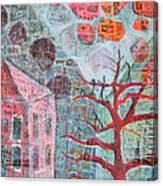 Grandma In A Tree Canvas Print