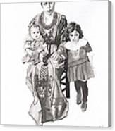 Grandma's Family Canvas Print