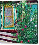 Grandma's Porch Canvas Print