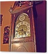 Grandmother Clock Canvas Print