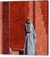Grandmother In India Canvas Print