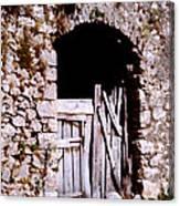 Grandpa's Back Door Canvas Print