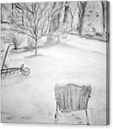 Grandpa's Backyard II Canvas Print
