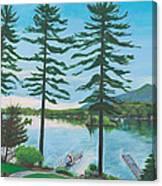 Grandpa's Love Canvas Print