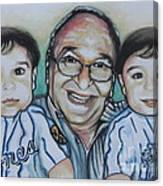 Grandpas Pride And Joy Canvas Print
