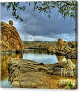 Watson Lake Prescott Arizona Canvas Print