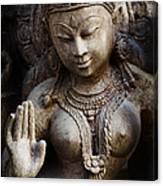 Granite Indian Goddess Canvas Print