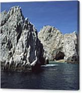 Granite Outcrop Cabo San Lucas Mexico Canvas Print