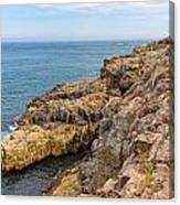 Granite Shore Canvas Print