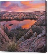 Granite Sorbet Canvas Print