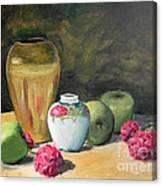 Granny's Apples Canvas Print