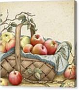 Granny's Basket Canvas Print