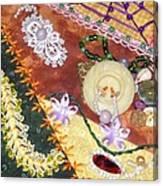 Granny's Crazy Quilt Canvas Print