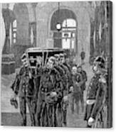 Grant Funeral, 1885 Canvas Print