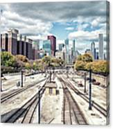 Grant Park Railroad Tracks Canvas Print