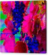 Grape Acid Canvas Print