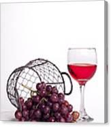 Grape Juice Canvas Print