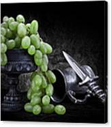 Grapes Of Wrath Still Life Canvas Print