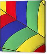 Graphic Hot Air Balloon Detail Canvas Print