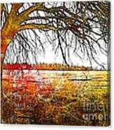 Graphic Tree Canvas Print
