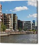 Grasbrookhafen Hamburg Hafencity Canvas Print