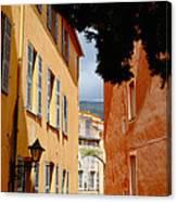 Grasse Alley France Canvas Print