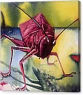 Grasshoper Canvas Print
