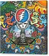 Grateful Dead Poster Canvas Print