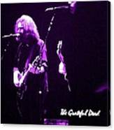 Grateful Dead In Purple - Concerts Canvas Print