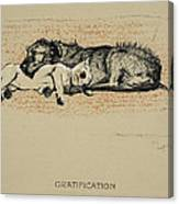Gratification, 1930, 1st Edition Canvas Print