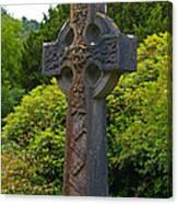 Grave Cross 4 Canvas Print